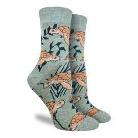 Sea Turtle - Crew Socks pair (Women)