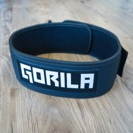 Gorila 4″ Nylon Weightlifting Belt - BLACK