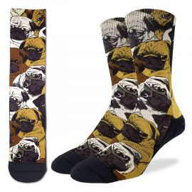 Social pugs - Active fit socks