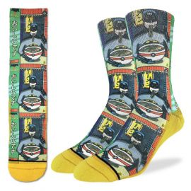 Batman & Ramen - Active Fit Socks