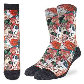 Floral farm - Active fit socks