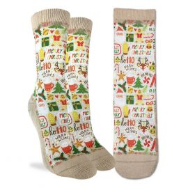 Merry Christmas - Active Fit Socks (women)