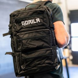 GORILA ADVENTURE BACKPACK - BLACK