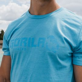 GORILA MEN'S ORIGINAL T-SHIRT - AQUA