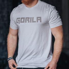 Gorila men's BOLD tee - Silver