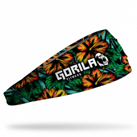 Gorila Junk headband - Dark Tropical