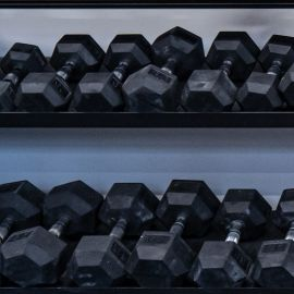 55-75lbs York Dumbbell Kit