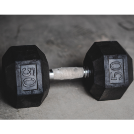USED - HEX DUMBBELL 50#