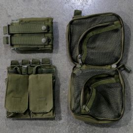 Gorila Plate Carrier Pouch Combo-Green