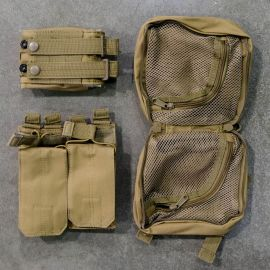 Gorila Plate Carrier Pouch Combo-Tan