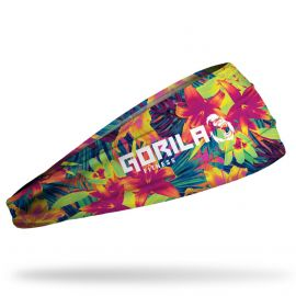 Gorila Junk headband - Tropical flowers