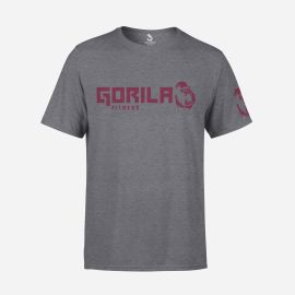 Gorila Men's Original T-shirt - Grey Burgundy