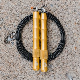 Gorila Bamboo Speed Rope-Gold/Black