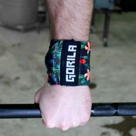 Gorila Wrist Wrap - TROPIC - PAIR 12''