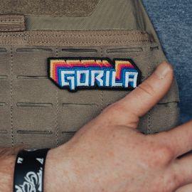 Coloured Gorila Logo PATCH