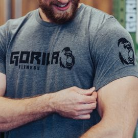 GORILA MEN'S ORIGINAL T-SHIRT - GREY