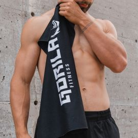 Gorila gym towel - Black