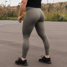 GORILA HIGH RISE LEGGINGS - OLIVE