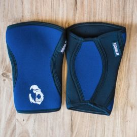 GORILA NAVY KNEE SLEEVES 5MM - PAIR