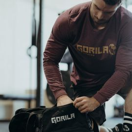 Gorila Fitness Longsleeve Shirt - Burgundy Heather