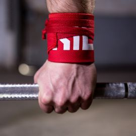 Gorila Strength Wrist Wraps - Red - Pair