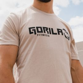 GORILA MEN'S ORIGINAL T-SHIRT - TAN