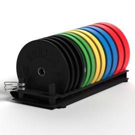Gorila training plate storage