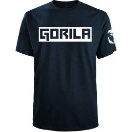 Gorila Box Men's T-shirt - Navy & White