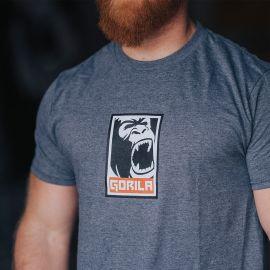 Gorila REC t-shirt - Graphite Heather