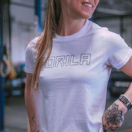 GORILA WOMEN'S T-SHIRT - WHITE