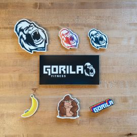 Gorila sticker pack