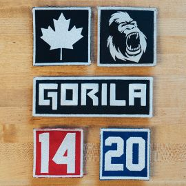 PATCHES GORILA VELCRO®