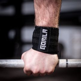 Gorila Wrist Wraps - Black - Pair